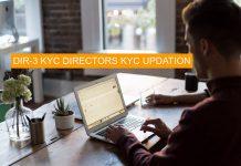 DIR-3 KYC UPDATION