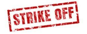 RoC LLP Strike Off Notice